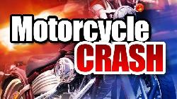 Motorcycle Crash Results in Injuries